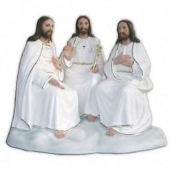 Statua Santissima Trinità in vetroresina cm 38