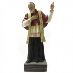 Statua Sant'Alfonso Maria Liguori in resina cm 31