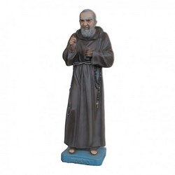 Statua San Pio da Pietrelcina in vetroresina cm 58
