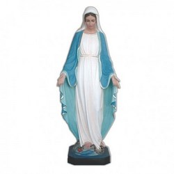 Statua Madonna Miracolosa in vetroresina cm 145