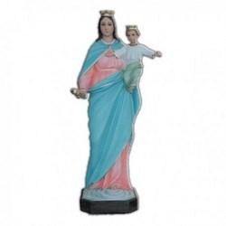 Statua Madonna Ausiliatrice in vetroresina cm 65
