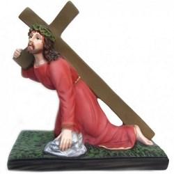 Statue di Gesù Cadente