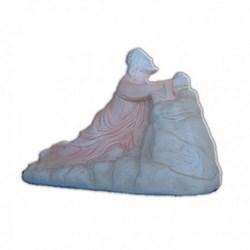 Statua Gesù nell'Orto in resina cm 21