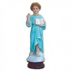 Statua Infanzia di Gesù in resina cm 38