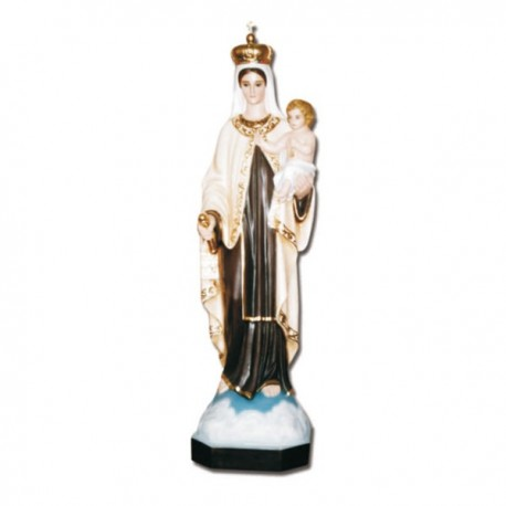 Statua Madonna del Carmine in vetroresina cm 130