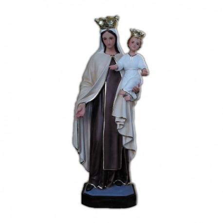 Statua Madonna del Carmine in vetroresina cm 65