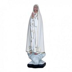Statua Madonna di Fatima in resina cm 30