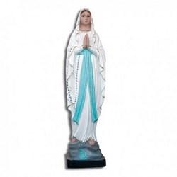 Statua Madonna di Lourdes in resina cm 20
