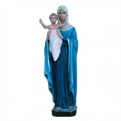 Statua Madonna Regina degli Apostoli in resina cm 40