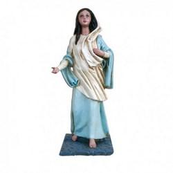 Statua Maria di Nazareth in resina cm 28