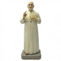 Statua Papa Giovanni XXIII in resina cm 44