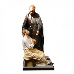 Statua San Camillo in vetroresina cm 175
