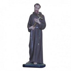 Statua San Francesco d'Assisi in resina cm 30