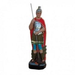 Statua San Giorgio in resina cm 30