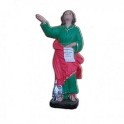 Statua San Giovanni Evangelista in resina cm 40