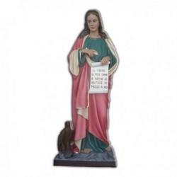 Statua San Giovanni Evangelista in vetroresina cm 160