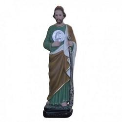 Statua San Giuda Taddeo in resina cm 30