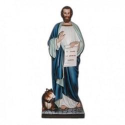 Statua San Luca Evangelista in vetroresina cm 160