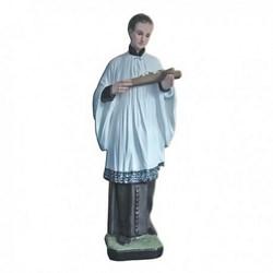 Statua San Luigi in resina cm 40