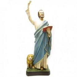 Statua San Marco in resina cm 44