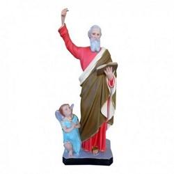 Statua San Matteo in resina cm 44