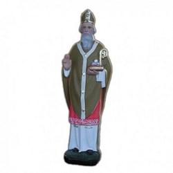 Statua San Nicola di Bari in resina cm 30