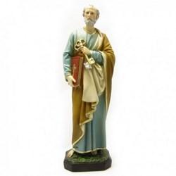 Statua San Pietro in resina cm 30