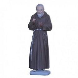 Statua San Pio da Pietrelcina in resina cm 23