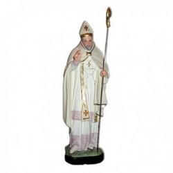 Statua Sant'Alfonso Vescovo in resina cm 40