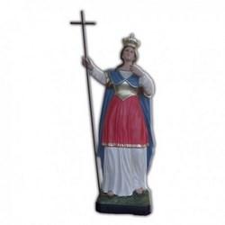 Statua Sant'Elena in vetroresina cm 70