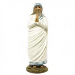 Statua Santa Madre Teresa di Calcutta in resina cm 25