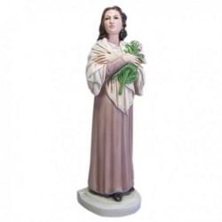 Statua Santa Maria Goretti in resina cm 30