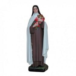 Statua Santa Teresa in resina cm 30