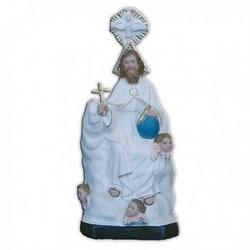 Statua Santissima Trinità in resina cm 28