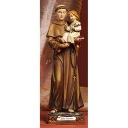 Statua Sacra di Sant Antonio cm 14.5 in resina