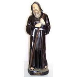 Statua San Francesco di Paola in resina cm 40