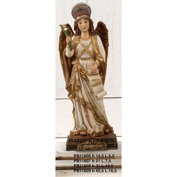 Statua San Gabriele Arcangelo cm 31 in resina