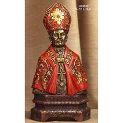 Statua San Gennaro Mezzo Busto cm 20 resina