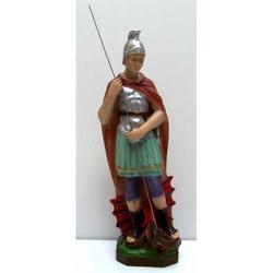 Statua San Giorgio in resina cm 32