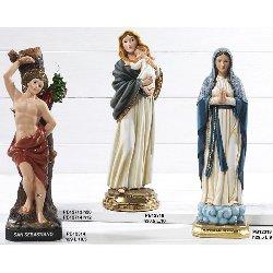 Statua San Sebastiano in resina cm 29
