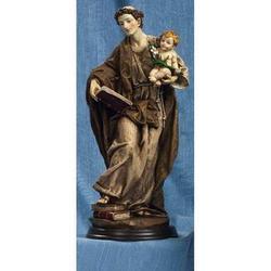 Statua Sant Antonio con Bambino cm 31 in resina