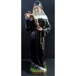 Santa Rita da Cascia in gesso cm 50