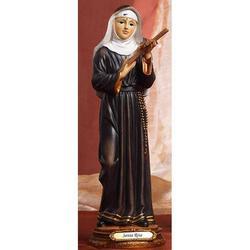 Statua Santa Rita 32 cm in resina