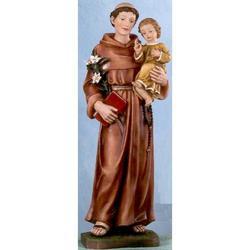 Statua Sant Antonio 50 cm in resina