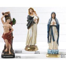 Statua San Sebastiano cm 19.5 in resina