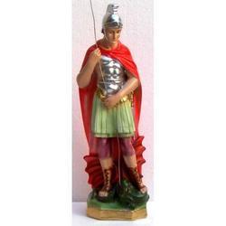 Statua San Giorgio da cm 31 in gesso