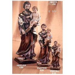 Statua San Giuseppe in resina cm 30