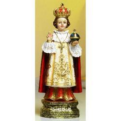 Statua Sacra di Gesu Bambino di Praga cm 20 in resina