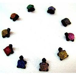 Tartaruga in Lava decorata cm 1.5x1.5 mis.1 - pezzo singolo
