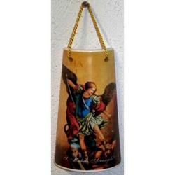 Tegola con San Michele Arcangelo cm 10x6